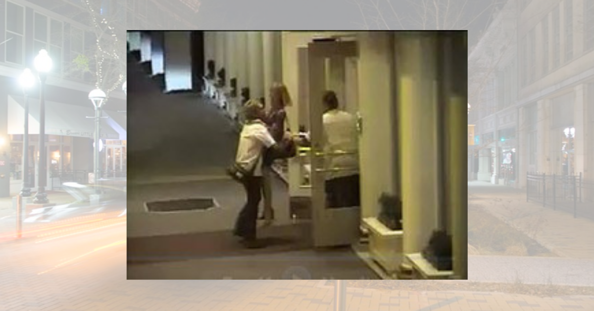 view from a surveillance camera at the Capital Hotel