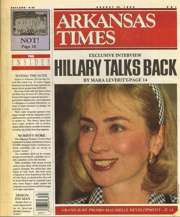 Hillary talks back