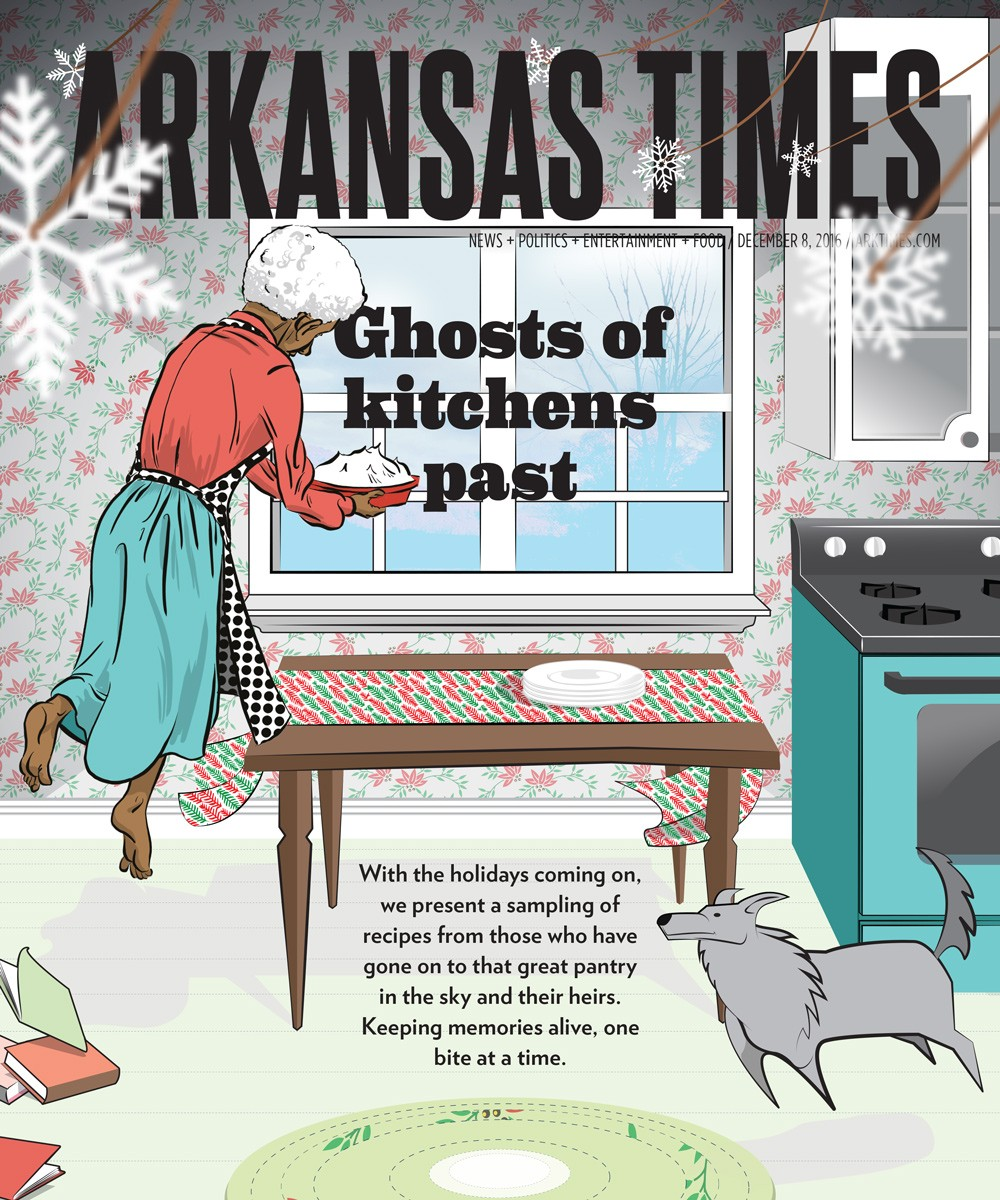 Ghosts of kitchens past