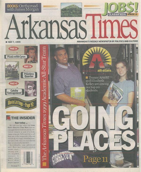 The 1999 Arkansas Times Academic All-Star Team