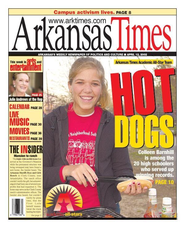 2002 Arkansas Times Academic All-Stars