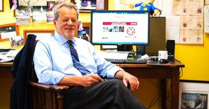 Arkansas Times Publisher Alan Leveritt.