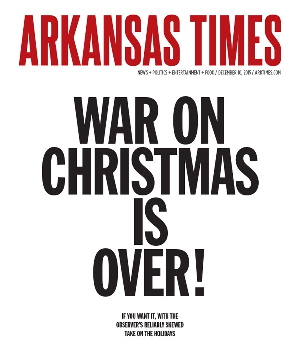 War on Christmas is over