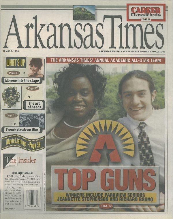 1998 Arkansas Times Academic All-Stars