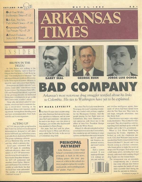 Bad company: Barry Seal, George Bush and Jorge Luis Ochoa