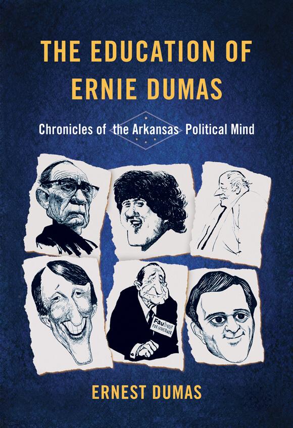 """image of Ernest Dumas' """"The Education of Ernie Dumas"""""""