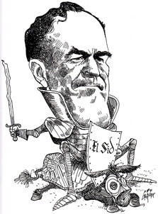 George Fisher cartoon of Sid McMath