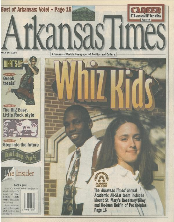 The 1997 Arkansas Times Academic All-Star Team