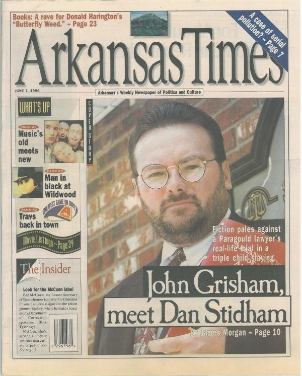 John Grisham, meet Dan Stidham