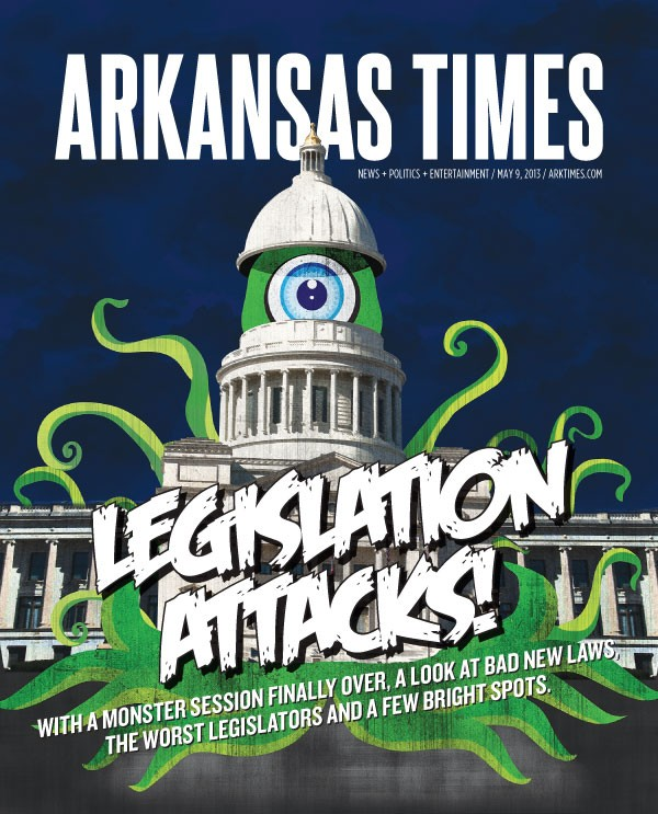 Legislation attacks!