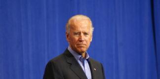 Picture of Joe Biden onstage