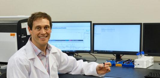 Picture of Brandon Thornton in Steep Hill Arkansas's lab