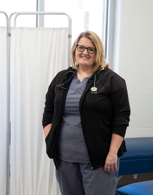 picture of Arkadelphia school nurse Beth Hasley