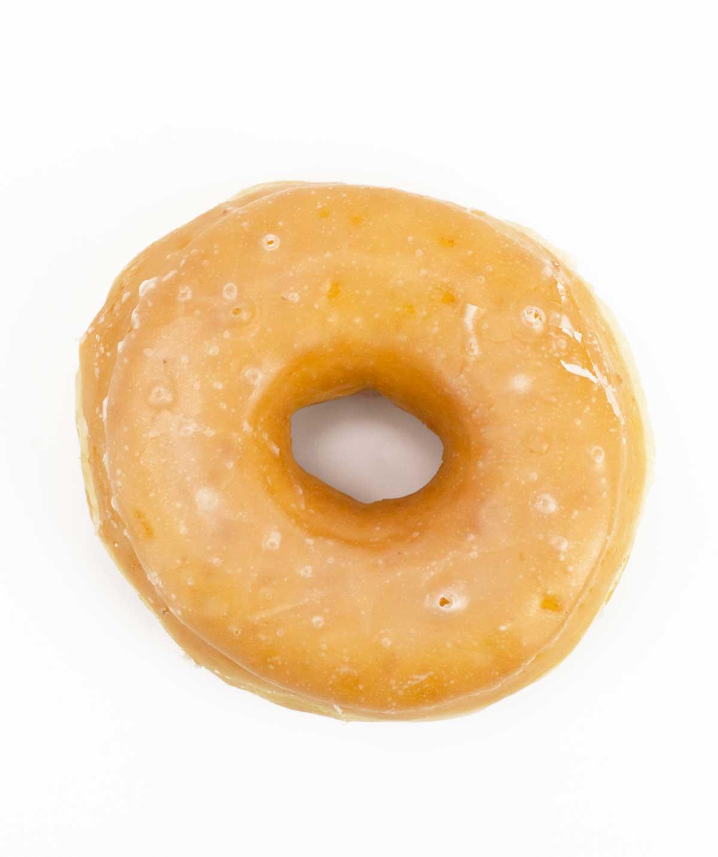 Picture of glazed Dunkin' Donut Little Rock