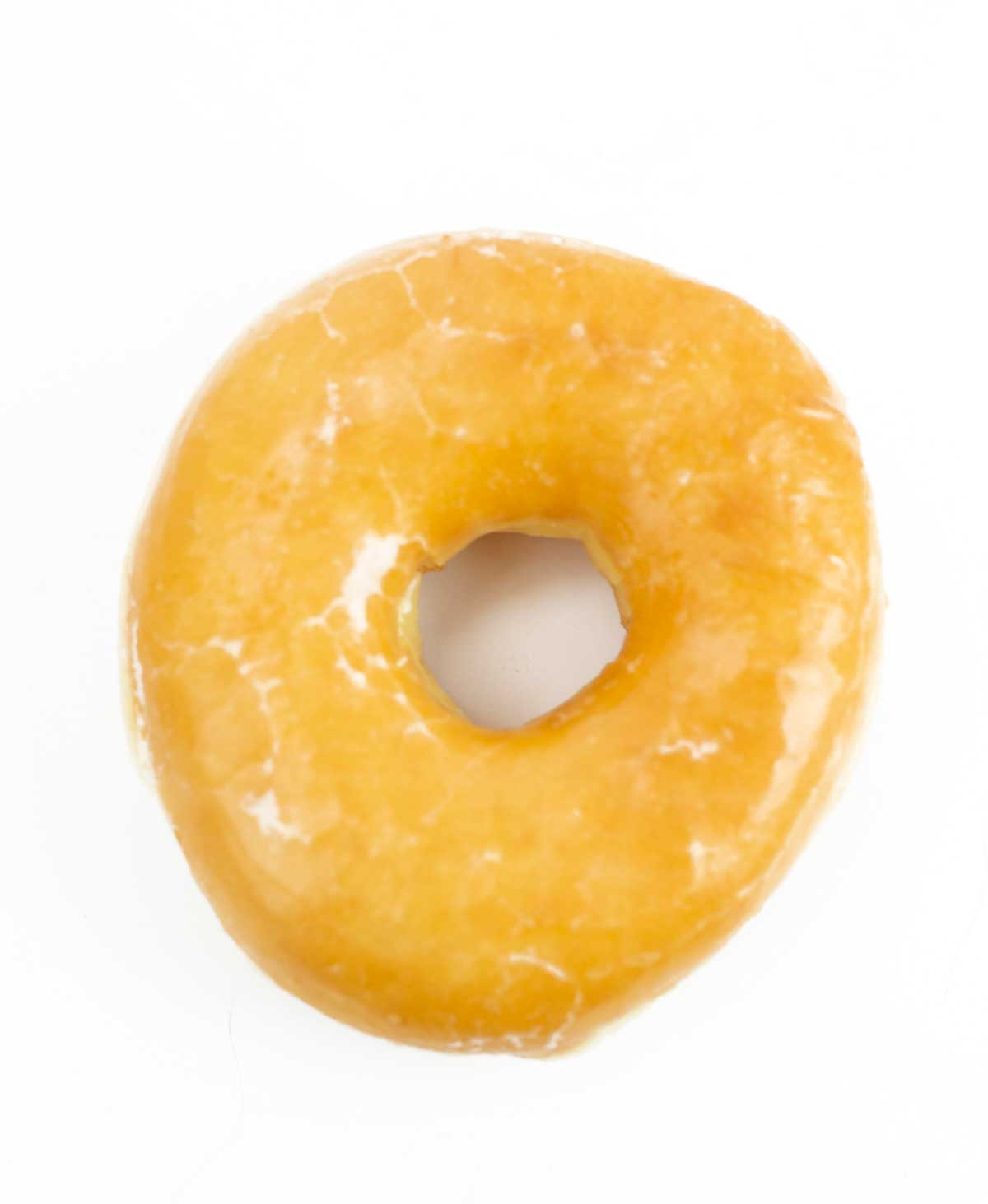Picture of glazed donut from Paul's